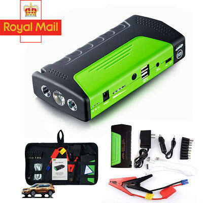 68800 mAh Heavy Duty Portable Car Emergency Charger Jump Starter Power Bank USB