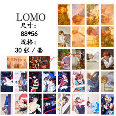 KPOP BTS BANGTAN BOYS Love Yourself Lomo Card SUGA JUNG KOOK V Photocards 30pcs