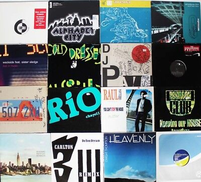 "* 35 Maxi-Singles 12"" 80er 90er 2000er: Trance Disco House Pop Rap Techno... *"