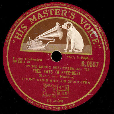 COUNT BASIE ORCH. Bill's Mill / Free eats (a free-bee) (Klassiker!!)  S3282