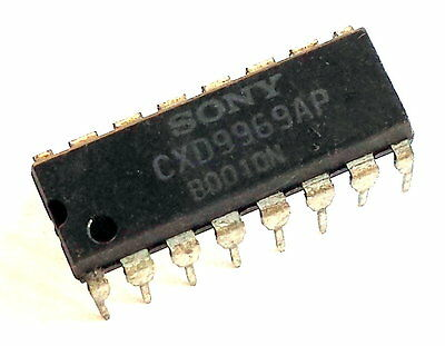 SONY  CXD9969AP DIP-16 Image Sensor Controller IC for TV, CDX9969P, NEW -ref:346