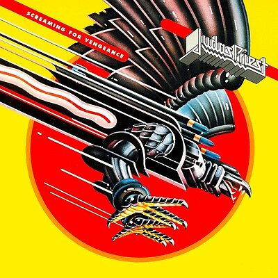Judas Priest - Screaming For Vengeance Vinyl LP Heavy Metal Sticker or Magnet