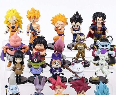 Lot DRAGON BALL Z - 20 Figurines  collection Neuf