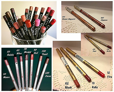 NYX-L'OREAL-MAYBELLINE-REVLON-MAX FACTOR LIP PENCIL  * Guarda gli sconti!!