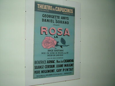 Vintage French Theatre Posters
