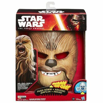 Star Wars Force Awakens Chewbacca Electronic Mask - Brand New 2017