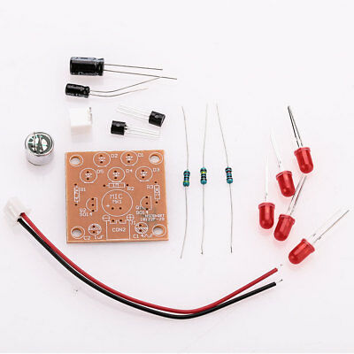 Circuit Board Voice Control LED Lamp DIY Kit Electronic Microfabrication