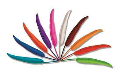 Feather Quill Pen MAGENTA