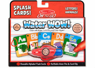 Melissa & Doug On The Go – Water WOW! Splash Cards – Letters! Animals!