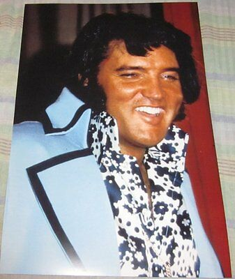 Elvis Presley The King Close Up Photo Replica Poster W/protective Sleeve