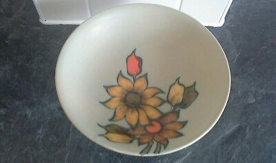 Vintage Dutch Gouda dish/bowl Aster on stand/leg