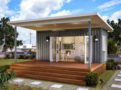 Container House Mobile Home Converted Storage Summer Guest or Log Cabin Bespoke