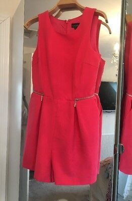 TopShop Pretty Playsuit Size 8