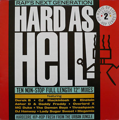 Various   ‎– Hard As Hell! Rap's Next Generation