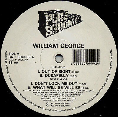 William George   ‎– Out Of Sight