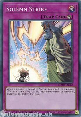 COTD-ENSE2 Solemn Strike Super Rare Limited Edition Mint YuGiOh Card