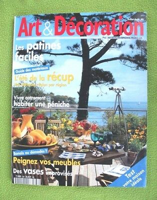 Revista francesa ART & DECORATION (Julio 99). Probablemente la mejor del mundo!