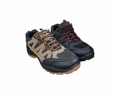 Mens Hiking Boots Trainers Shoes Lace Up Strap Walking Trail Trekking Size 6-11