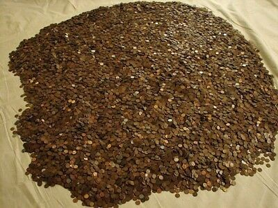 Unsearched Rolls Of Wheat Pennies 1909-1956 *with Steel Pennies+Others*