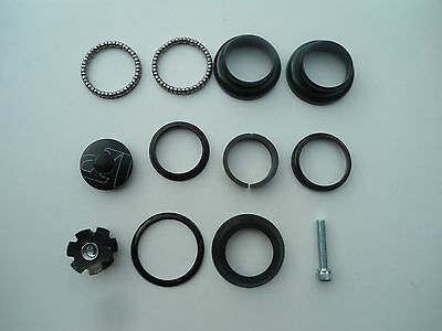 """Bicycles Threadless Headset Complete 1-1/8"""" FOR MTB,Road Bikes Racing Cycles r"""