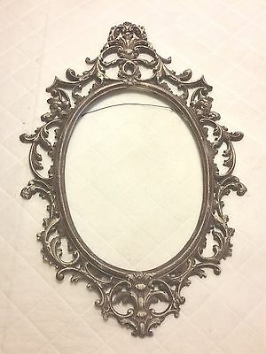 Antique Vintage Cast Metal Victorian Style  FRAME