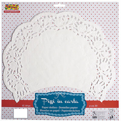 Doilies Round 10cm Wedding Anniversary Christmas Party Table Decoration