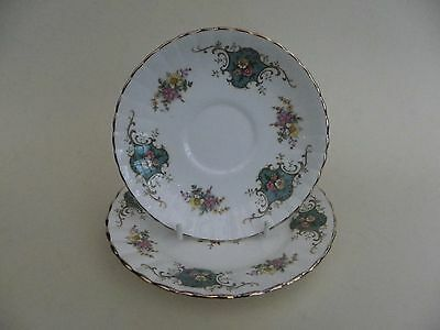 "Royal Stafford Bone China ""True Love"" Saucer & Side Plate."