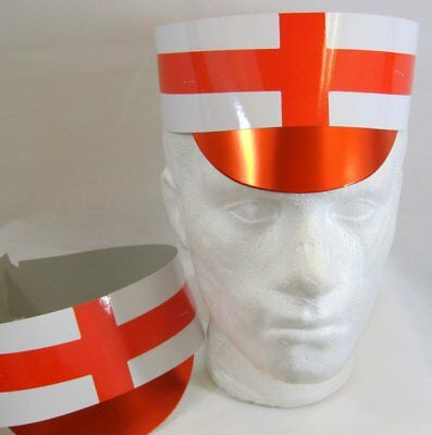 Hat Card Flag with Peak England Great Britain Brexit St George