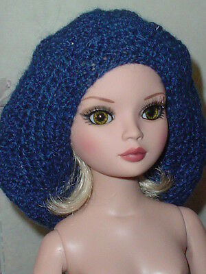 Handcrafted Slouch Doll Hat Tonner Ellowyne Amber Lizette Navy