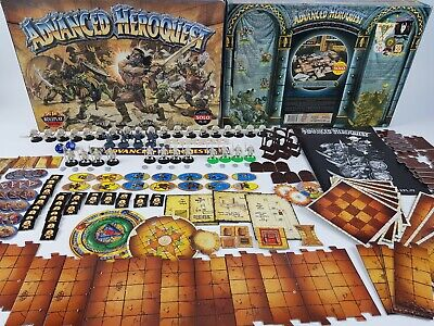 Advanced HeroQuest board game - Prime condition unpainted complete [ENG, 1989]