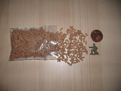 Bricks mini cork 1 100 1 76 1 72 ladrillos 1.800 units=2 bolsas/bags