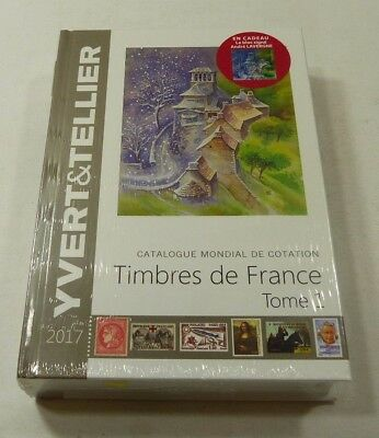 Yvert & Tellier France Stamp Catalogue 2017 edition brand new last years edition