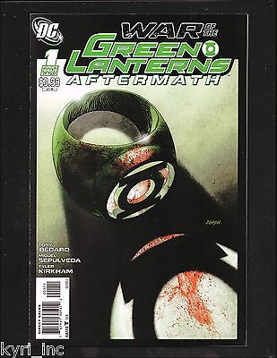 War Of The Green Lanterns Aftermath #1-2 Part Special Casualties Of War Dc  Pt2