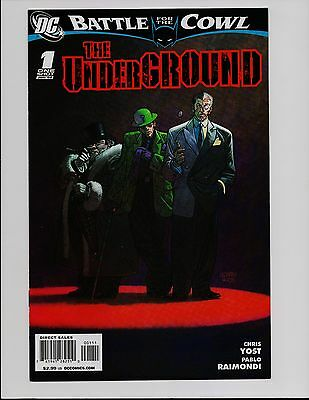 The Underground #1 One Shot Battle For The Cowl Batman Dc Comics Bt