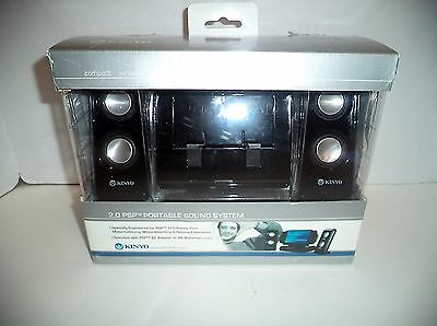 Kinyo 2.0 Psp Portable Sound system New opened