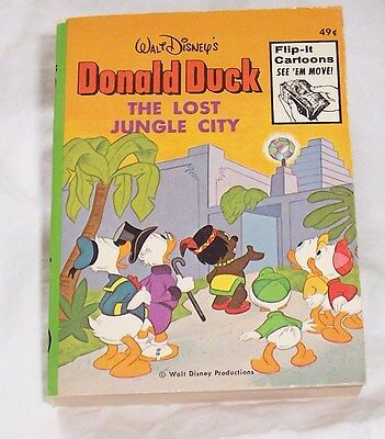 Big Little Book Donald Duck and the Lost Jungle City VF/NM N