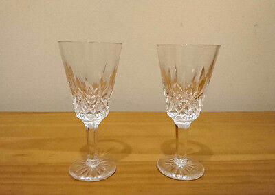 Tyrone Crystal  Sherry Glass up to 3 available Irish Cut Glass