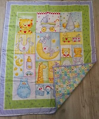 Handmade Baby Quilt Gift For Baby Made In Newfoundland New Unisex (A2)