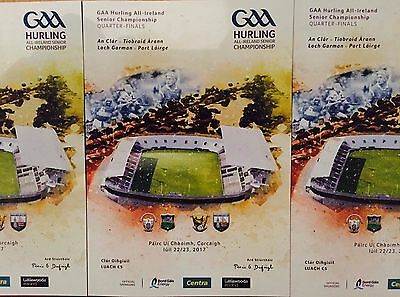 Specially commissioned GAA match programme for Páirc Uí Chaoimh