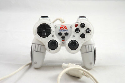 Sony Playstation 2 Controller 'EA Sports' Weiß, PS2 o. OVP, TOP, GUT
