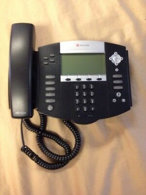 Genuine Polycom IP550 2201-12550-001 PoE Desktop Business Phone VOiP