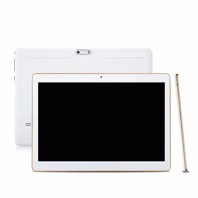 10,1 ZOLL ANDROID 4.4.2 TABLET PC QUAD CORE PHABLET IPS 2*SIM WIFI GPS Weiß