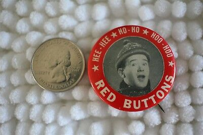 1950's Red Buttons Actor Comedian Ho Ho Song Pin Pinback Button #25881