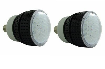 Qty2 Hb80-E26-39 Led High Bay Metal Building Light E39 6500K White 80W Repl 480W