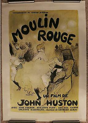 MOULIN ROUGE French Poster F. Gaborit artwork