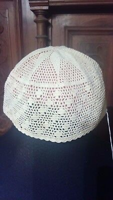 Antique Crochet Cap