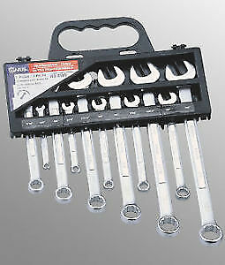 Genius Tools 11pc Metric Combination Wrench Set HS-011M
