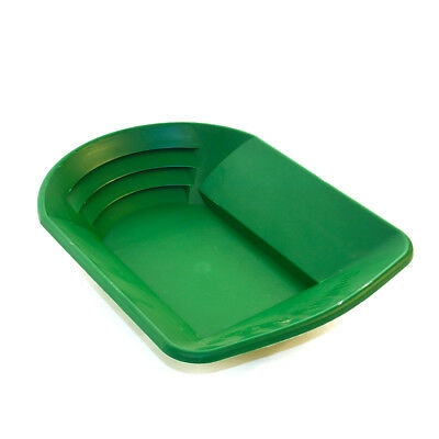 Grabber Gold Pan Green 14x10x3 inches for gold prospecting