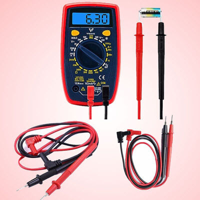 Digital Multimeter Measurement Probes Test Lead Electrical Instruments Silicone