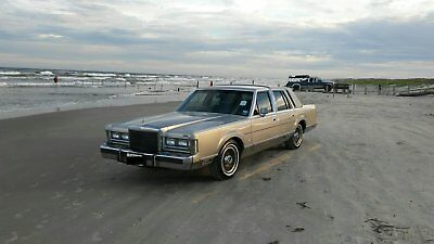 1988 Lincoln Town Car Cartier lincoln
